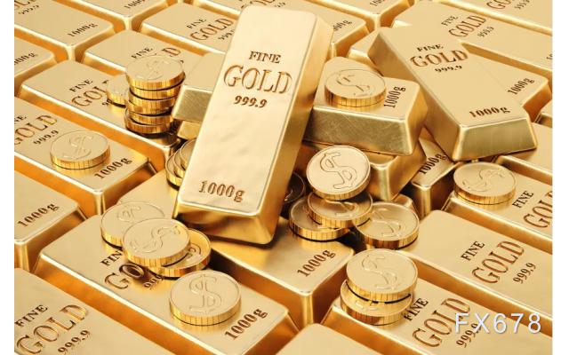 美元冲高回落,黄金跌幅缩窄,有望三周来首周攀升