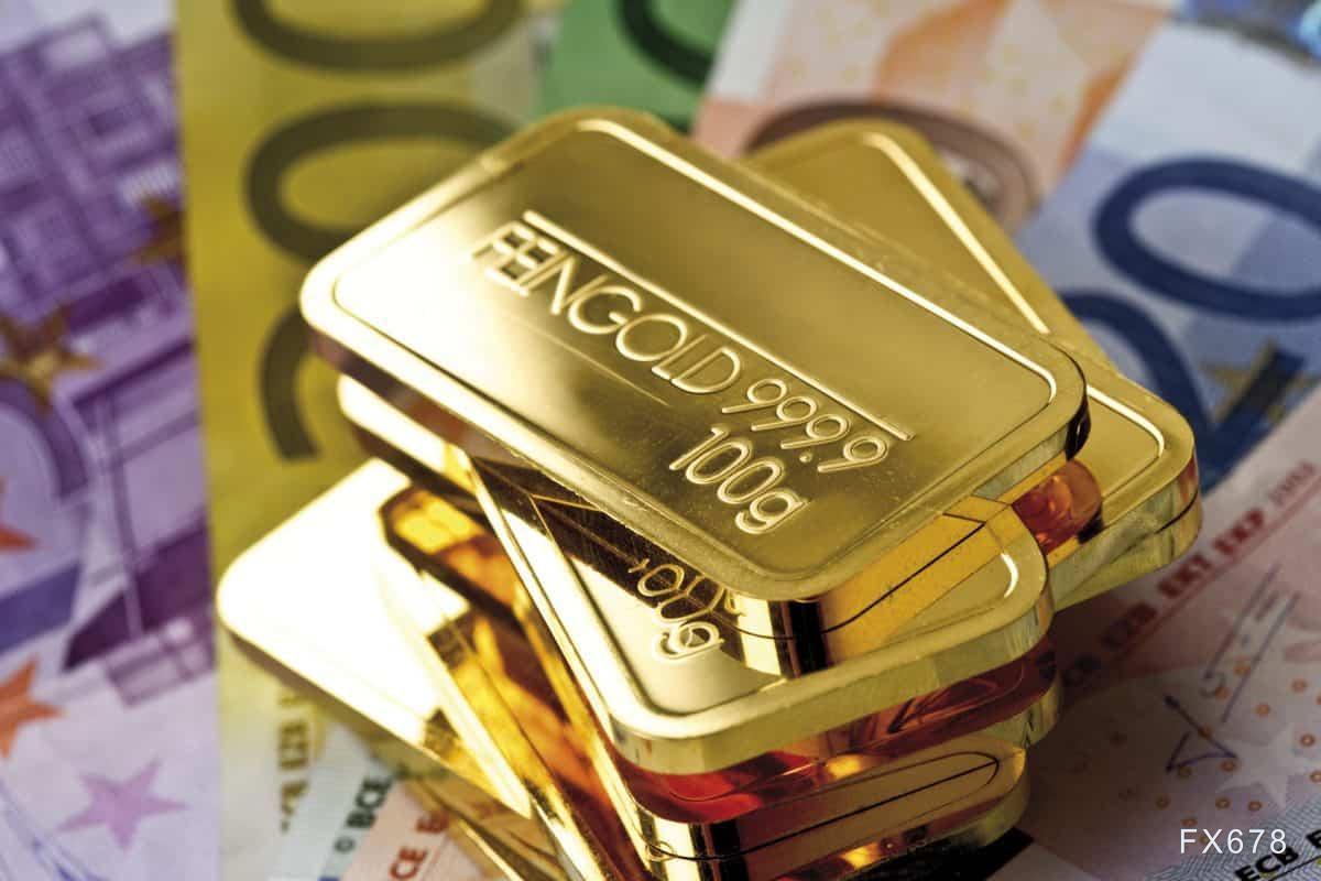 黄金交易提醒:美债收益率坚挺金价退守1730,美国CPI来袭