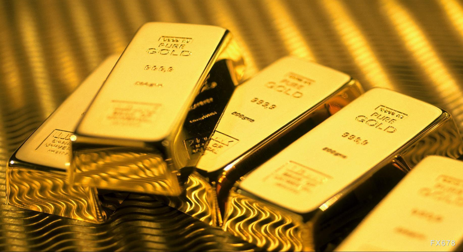 摩臣5注册黄金交易提醒:美元大幅回调金价暴力拉升,日内或挑战千八大关